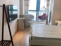 吾悦公寓 中层 直面暨阳湖景观优美 37.5平45万可谈 有钥匙