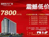 国泰东方广场 5A级写字楼 7800元 平米起 震撼价出售