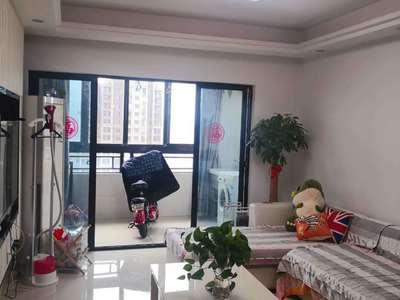 首次出租,江南十二府85平精装,两室两厅,设施齐全,拎包入住,租金41000/年