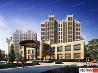 龙庭华府6楼87平两室两厅新空房 产权车位 满两年 85万