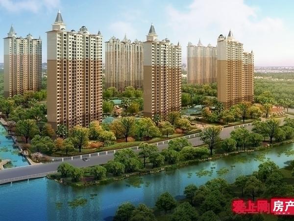 有钥匙看中可谈 君临新城10楼大平层195平 车位 毛坯 满2年 报价450万