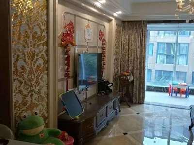 港城华府电梯3楼 总高6楼128平 产权车位豪装地暖 中央空调 278万