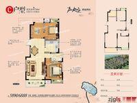 合兴沙洲新城郦景澜湾4楼92平 2室2厅1卫 新空房 仅102万;可交易,有钥匙