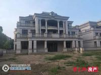 中昊檀宫独栋别墅1330平方 院子占地一亩多 大地下室 5车位毛坯报价4200万