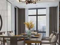 君临新城 24楼 146平加车位 豪装70万 保养很好四室二厅 376万 满两年
