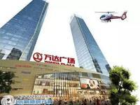 万达广场旁,汇金中心152平米,高档写字楼3300元/月,可注册