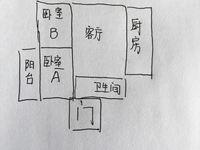 大产权小投资,花园浜二村 126.8万 2室1厅1卫 精装修你说值吗?