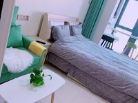 吾悦广场 单身公寓 可短租 长租 欧式装修 拎包入住 看房方便