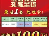出售网红商业街75平米100万商铺