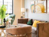 攀华国际精装36平单间公寓,有平层有复式精装交付,看房方便单
