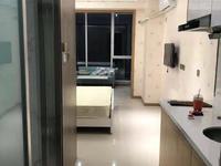 急租万达公寓精装一室一厅,繁华商圈,拎包入住